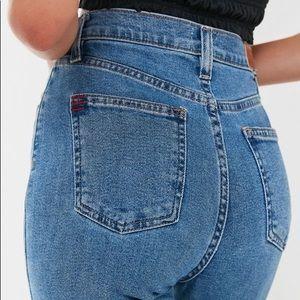 BDG Girlfriend High-Waisted Longline Jean